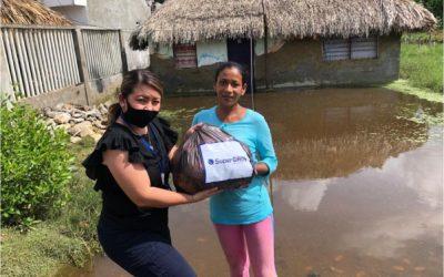 SuperGIROS hizo donación a las personas afectadas por la emergencia invernal